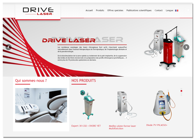 Drive Laser dentaire